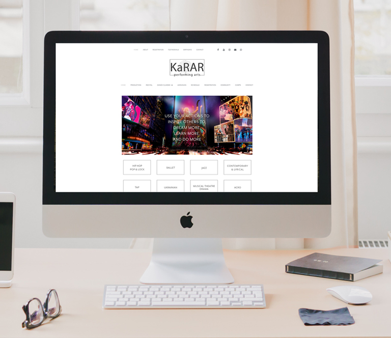 website design Stony Plain
